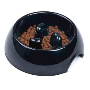 3/$15❗️🐾 Heavy Duty Dog Bowl Slow Feeder Melamine